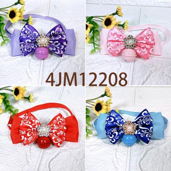 4JM12208 插扣式領結(M)-4色 12入/包