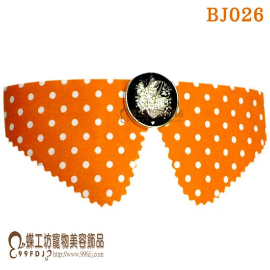 BJ026 綁帶式領子 10條入