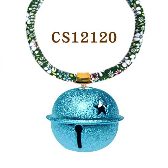 CS12120 鈴噹項鍊-藍(S)12條/包